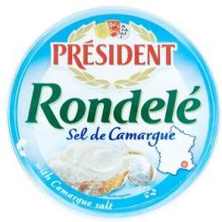 PRÉSIDENT Rondelé Sajt Tengeri Sóval (100g)
