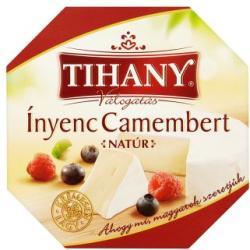 Tihany Válogatás Ínyenc Camembert Natúr (125g)