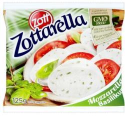 Zott Zottarella Basilikum Bazsalikomos Mozzarella Sajt Sós Lében (200g)