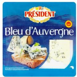PRÉSIDENT Bleu d'Auvergne Félkemény Sajt (100g)