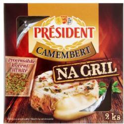 PRÉSIDENT Grill Camembert Sajt (2x90g)