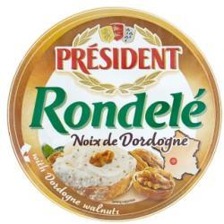 PRÉSIDENT Rondelé Diós Sajt (100g)