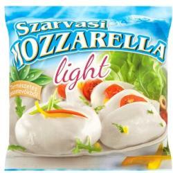 Szarvasi Light Mozzarella Csökkentett Zsírtartalmú Sajt (200g)