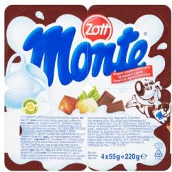 Zott Monte tejdesszert 4 x 55g