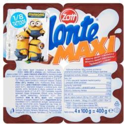 Zott Monte Maxi tejdesszert 4 x 100g