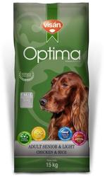 Visán Optima Adult Senior & Light 15kg