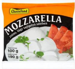 Cheeseland Mozzarella Sajtgolyó Sólében (190g)