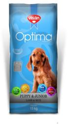 Visán Optima Puppy & Junior Lamb & Rice 15kg