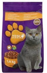 TESCO Teljes értékű állateledel felnőtt macskák számára csirkével és hozzáadott zöldségekkel 1, 8 kg
