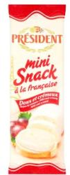 PRÉSIDENT Mini Snack Zsíros Lágy Sajt (90g)