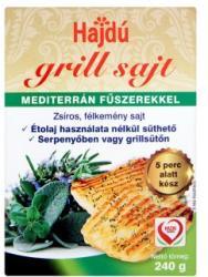 Hajdú Grill Sajt Mediterrán Fűszerekkel (240g)