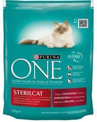 one Sterilcat Beef 200g