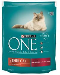 one Sterilcat Beef 800g