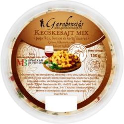 Garabonciás Paprikás Borsos És Kertifűszeres Kecskesajt Mix (150g)