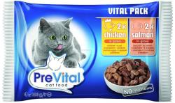 PreVital Vital Pack Chicken & Salmon 4x100g
