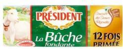 PRÉSIDENT La Buche Zsíros Lágy Kecskesajt (180g)