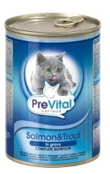 PreVital Salmon & Trout Tin 415g