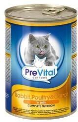PreVital Poultry, Rabbit & Carrot Tin 415g
