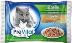 PreVital Sterile Poultry & Liver 4x100g