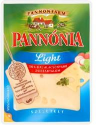 PANNÓNIA Light Szeletelt Félzsíros Félkemény Erjedési Lyukas Sajt (125g)