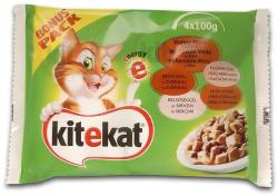 Kitekat Hunting Menu Chicken & Beef 4x100g