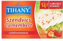Tihany Válogatás Szendvics Camembert Csípőspaprikás Zsíros Lágy Sajt (120g)