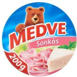 MEDVE Sonkás Kenhető Félzsíros Ömlesztett Sajt (200g)