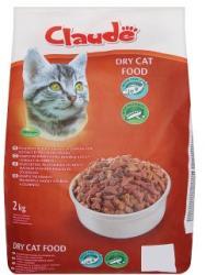 Claude Teljes értékű állateledel felnőtt macskák számára hallal és zöldséggel 2 kg