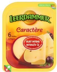 LEERDAMMER Caractère Zsíros Félkemény Szeletelt Sajt (125g)