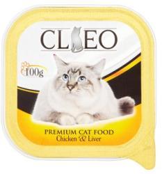 Cleo Teljes értékű macskaeledel pástétom csirkehússal és májjal 100 g