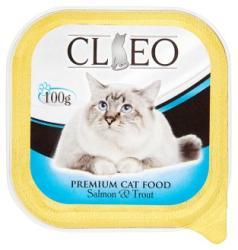 Cleo Teljes értékű macskaeledel pástétom lazaccal és pisztránggal 100 g
