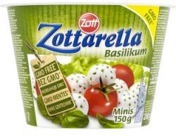 Zott Zottarella Mini Bazsalikomos Mozzarella Sajt Sós Lében (280g)
