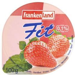 Frankenland Fit sovány gyümölcsjoghurt 500g