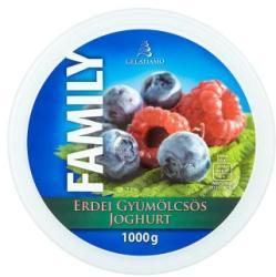 Gelatiamo Family gyümölcsös joghurt jégkrém 1000g
