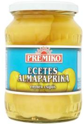 PREMIKO Enyhén Csípős Ecetes Almapaprika (680g)