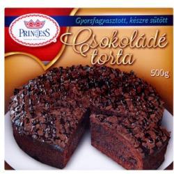 Princess Gyorsfagyasztott csokoládé torta 500g
