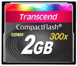 Transcend Compact Flash CF300 2GB 300x TS2GCF300