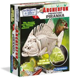 Clementoni Archeofun - Világító Piranha (61242)