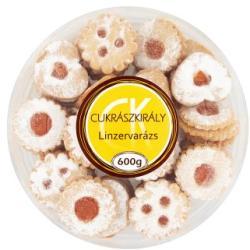 Cukrászkirály Linzervarázs 600g