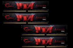 G.SKILL Aegis 32GB (4x8GB) DDR4 2400Mhz F4-2400C15Q-32GIS