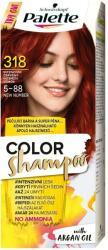 Palette Color Shampoo 318 Intenzív Vörös