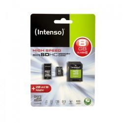 Intenso MicroSDHC 8GB Class 10 Mobility Kit (3413760)