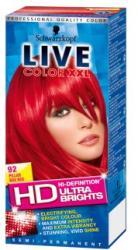 Schwarzkopf Live Color XXL 92 Lángoló Piros