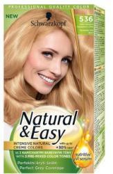 Schwarzkopf Natural & Easy 536 Makadámia Aranyszőke