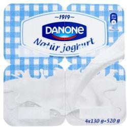 Danone natúr joghurt 4x130g