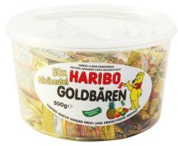 HARIBO Goldbären gumicukor 500g