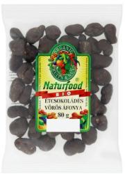Naturfood Bio étcsokoládés vörös áfonya drazsé 80g