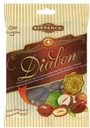 SZERENCSI Diabon étcsokoládés mogyoró és mandula drazsé 80g