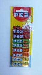 PEZ Fizzy cukorka 8x8.5