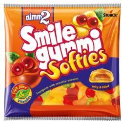 STORK Nimm2 Smilegummi Softies gumicukor 90g